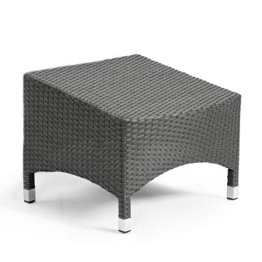 Пуфик серый Cora 14501-7
