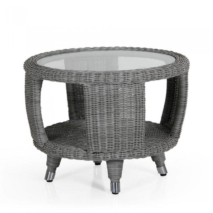 Столик для кофе серый Silva