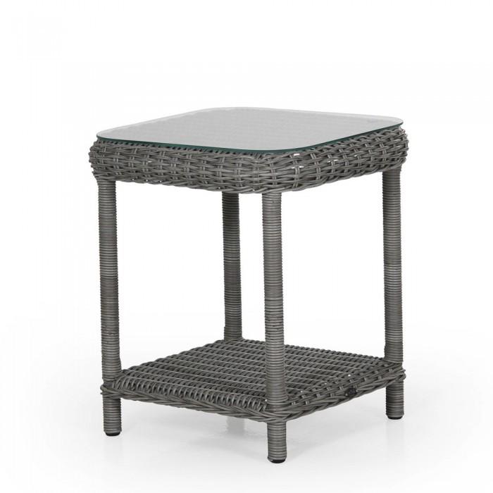 Столик для кофе серый Catherine