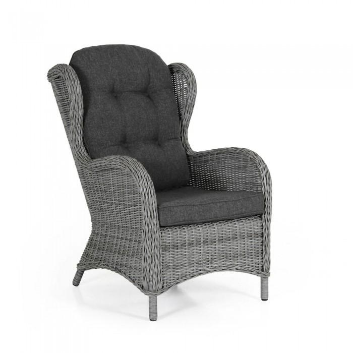 Кресло серое Evita 5641-74