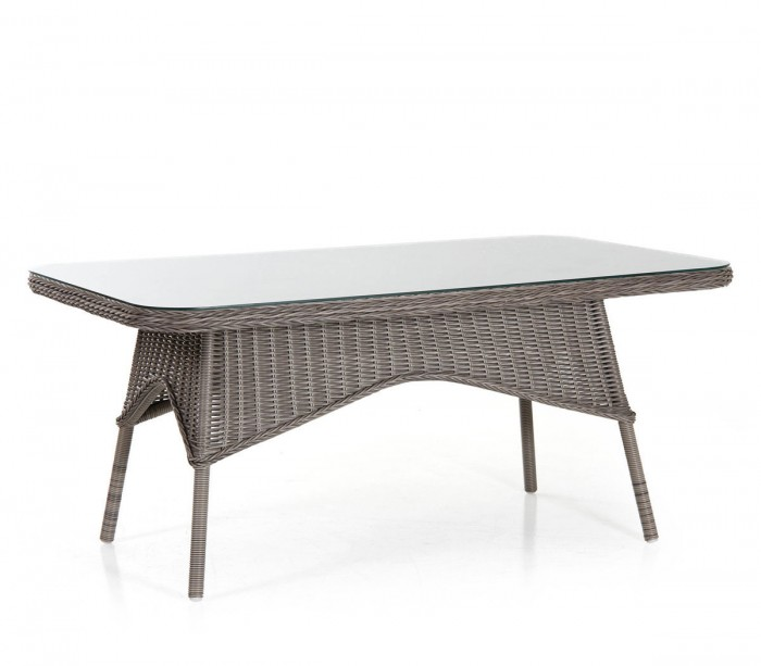 Стол обеденный серый Evita