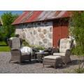 Кресло коричневое Evita 5641-60 - фото 1