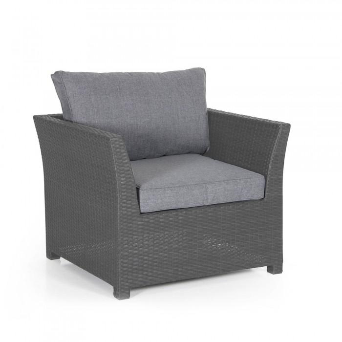 Кресло серое Madison 2411S-72-71