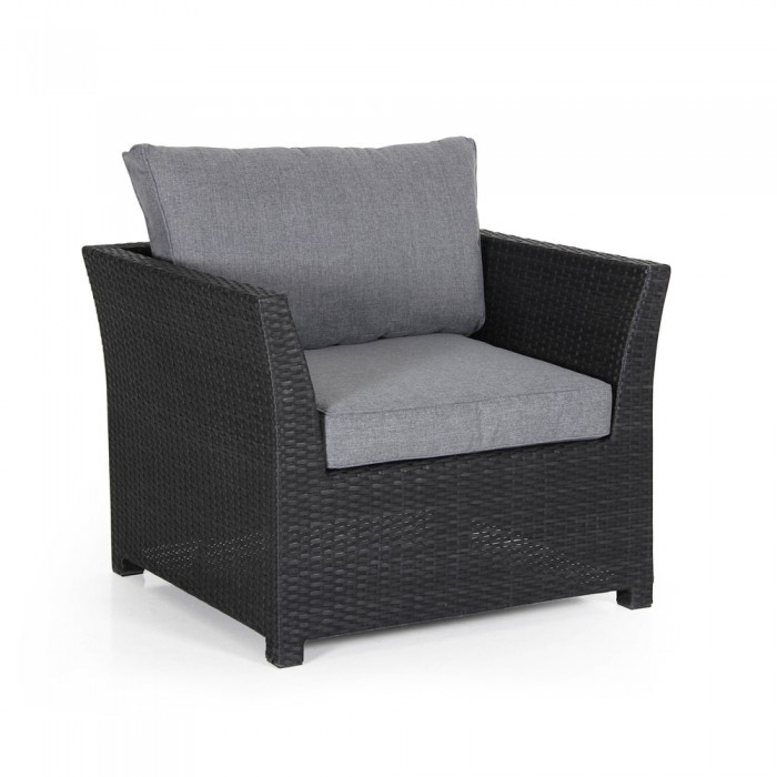 Кресло черное Madison 2411S-8-71