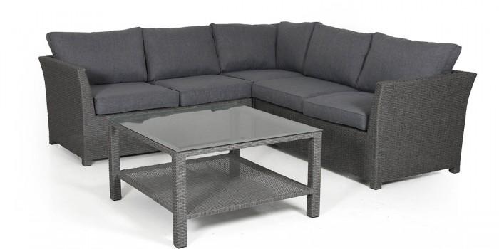 Комплект для отдыха-2 серый Madison ko-madison2-grey
