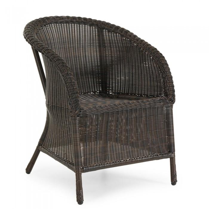 Кресло коричневое Magda 6803-6
