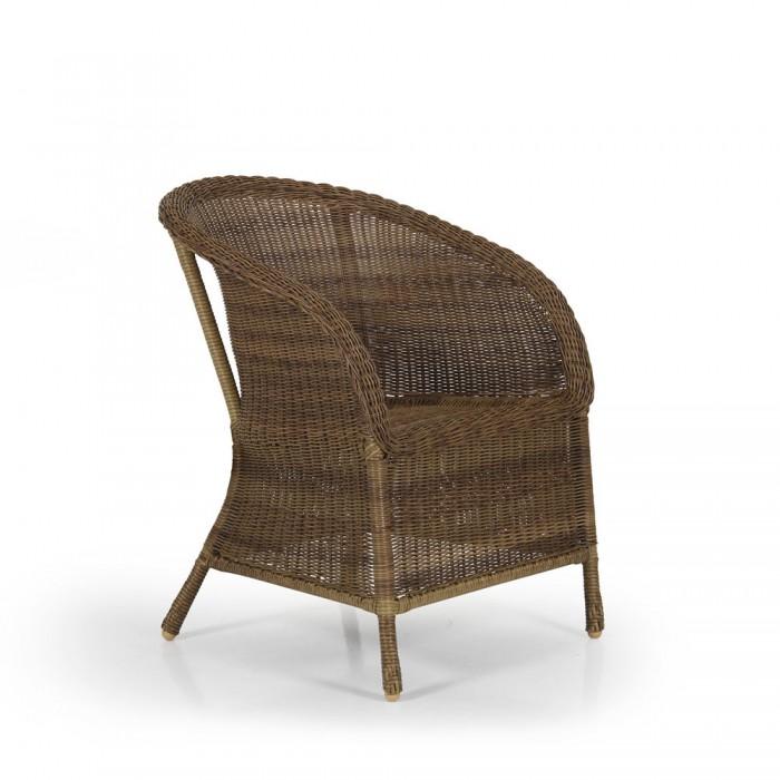 Кресло коричневое Magda 6803-66