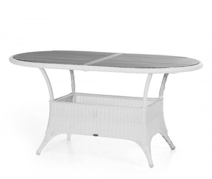 Стол обеденный белый 150см Magda 6806-5-7