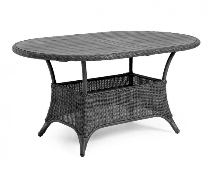 Стол обеденный серый 150см Magda 6806-7-7