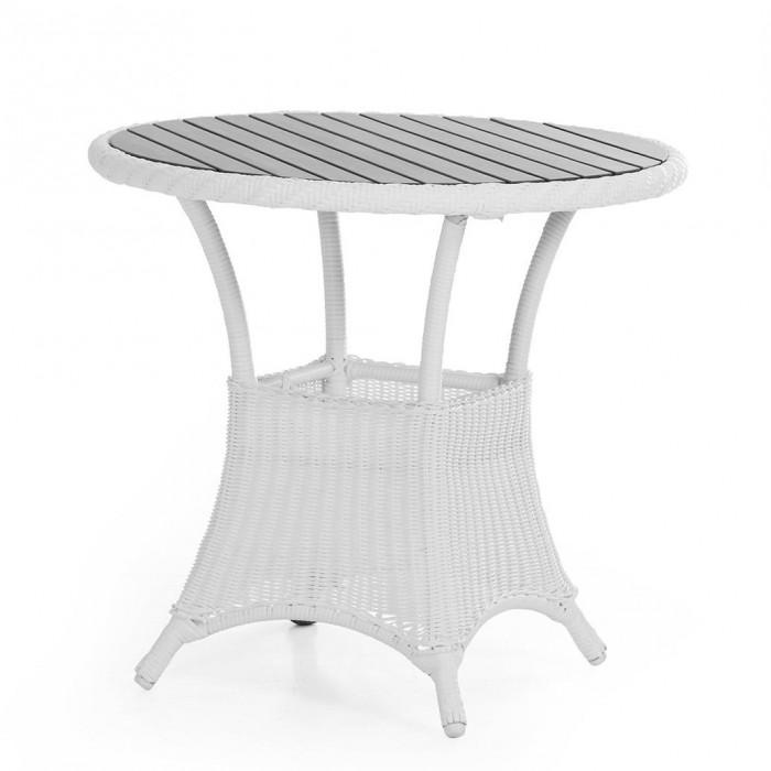 Стол обеденный белый 80см Magda 6808-5-7