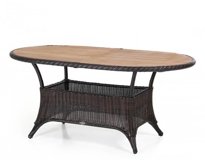 Стол обеденный коричневый 150см Magda 6810-6