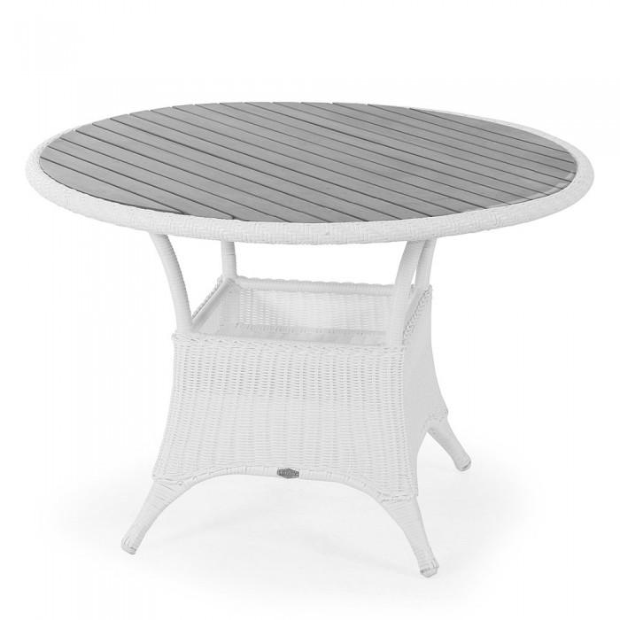 Стол обеденный белый 107см Magda 6807-5-7