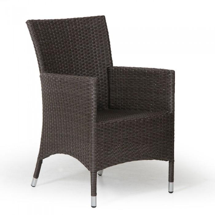 Кресло коричневое Molina 6856-6
