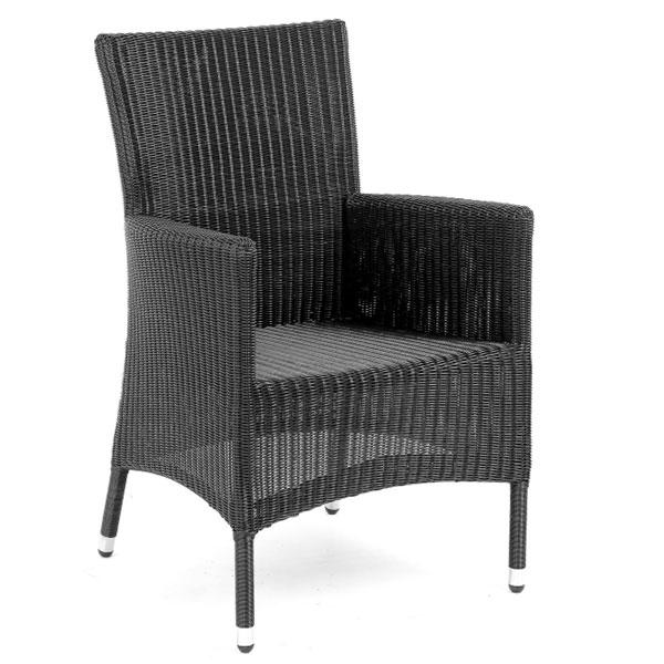 Кресло черное Molina 6856-8NB