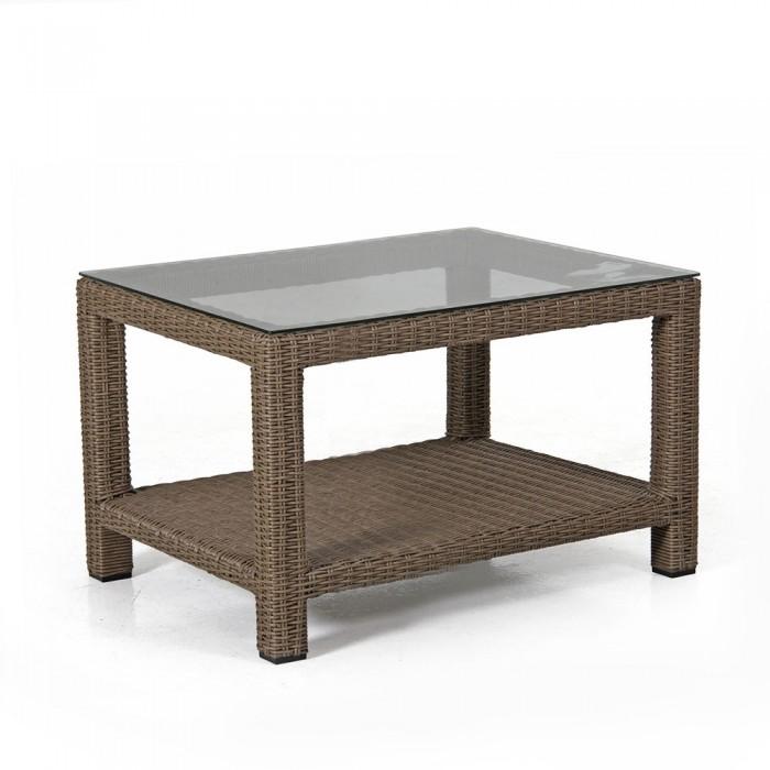 Столик для кофе 90х90 натуральный Ninja 3556
