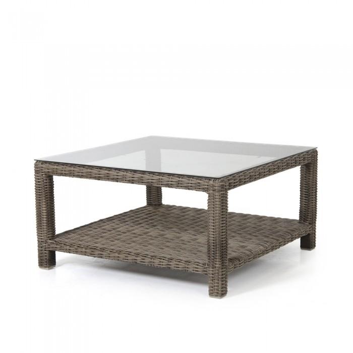 Столик для кофе 90х90 коричневый Ninja