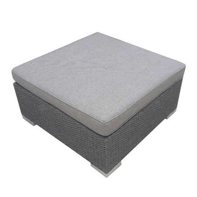 Столик-пуф серый Ninja 4520-73-76