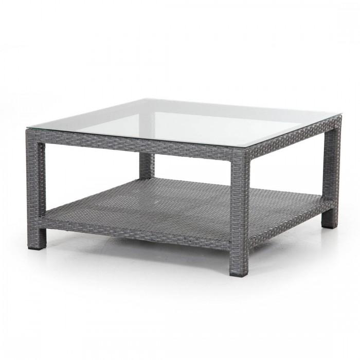 Столик для кофе 90×90 серый Ninja