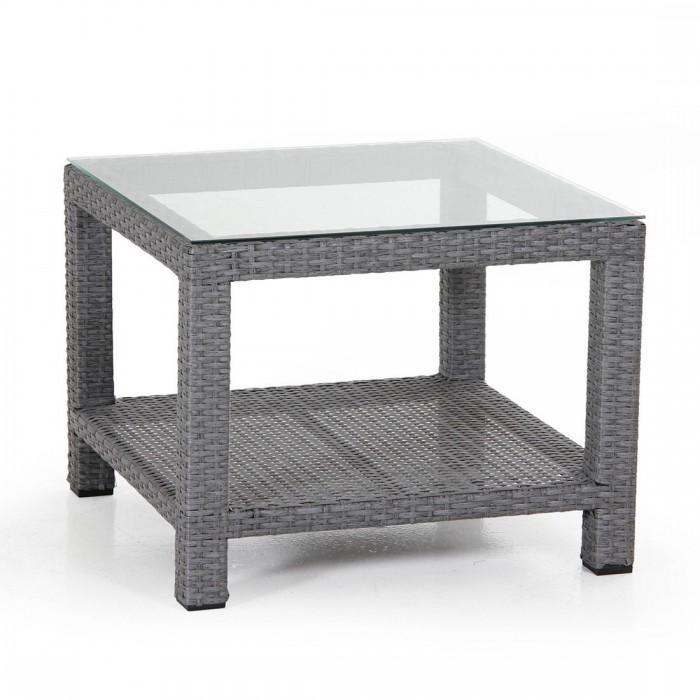 Столик для кофе 60×60 серый Ninja 3557-73