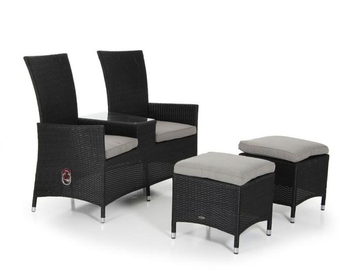 Кресло «Ты и Я» черный Ninja 35632-8-26