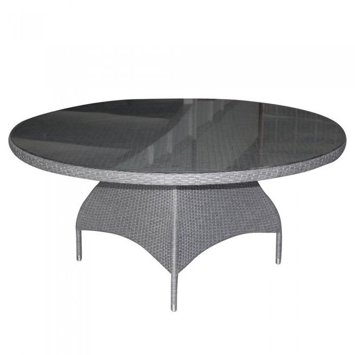 Стол обеденный серый 160см Ninja