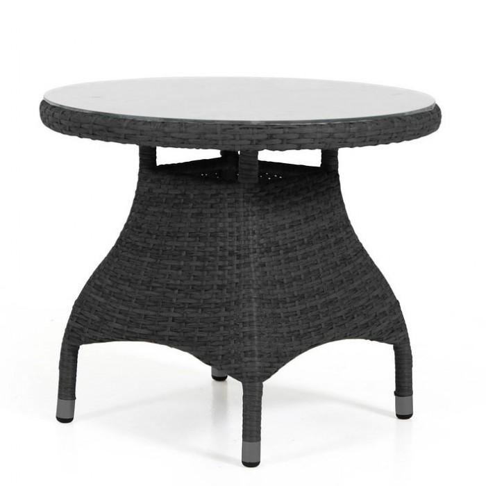 Столик для кофе круглый черный Ninja 35677-8