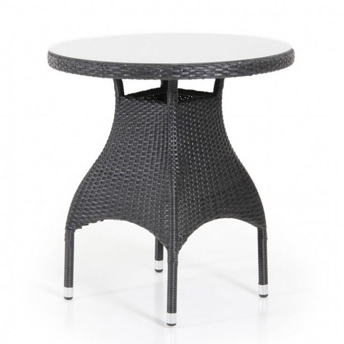 Стол обеденный 70см черный Ninja 3568-8
