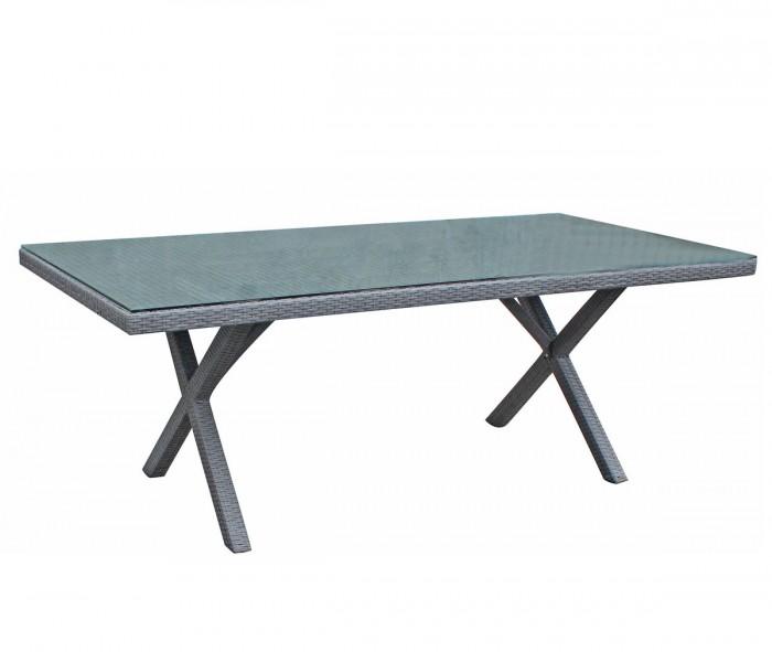 Стол обеденный серый 200см Ninja 35861-73