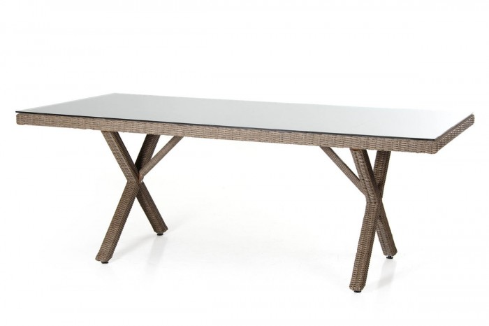 Стол обеденный натуральный 200см Ninja 35861