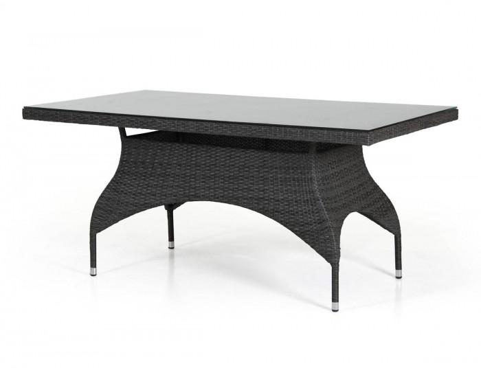 Стол обеденный черный 110×65см Ninja 3617-8