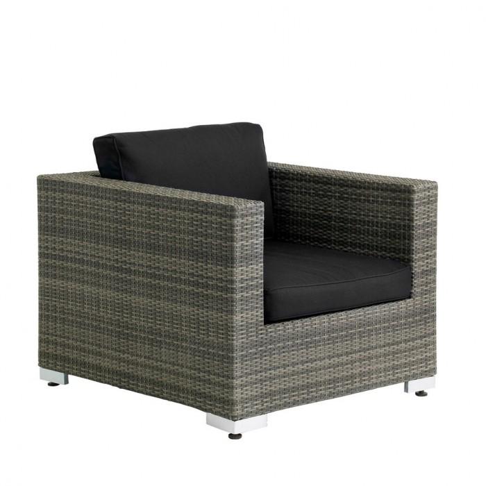 Кресло серое Olimpia  3501-7-26