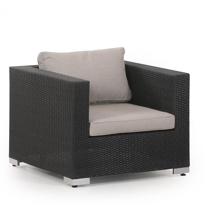 Кресло черное Olimpia  3501-8-26