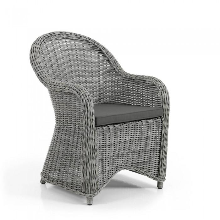 Кресло серое Paulina 5631-74-73