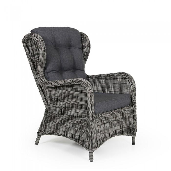 Кресло серое Rosita 3911-74-71