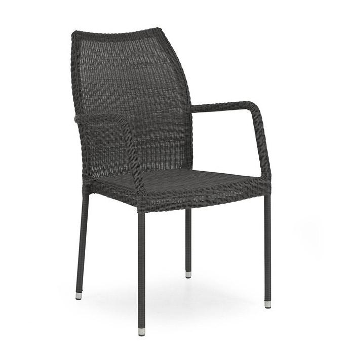 Кресло черное Angelica 1072-8