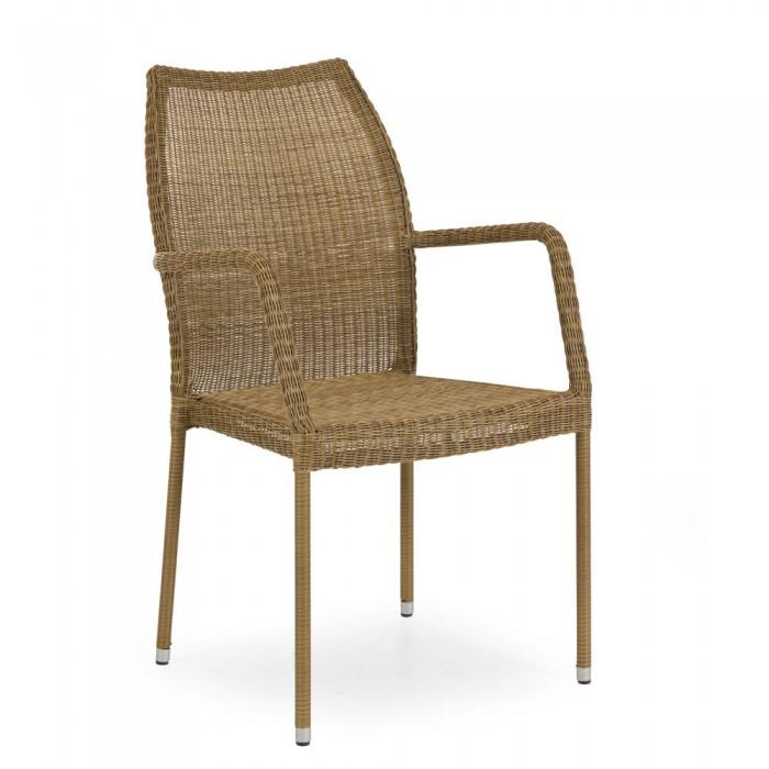 Кресло натуральное Angelica 1072