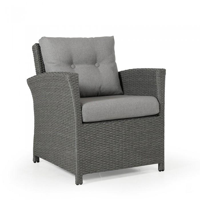 Кресло серое Soho 2311S-76-76