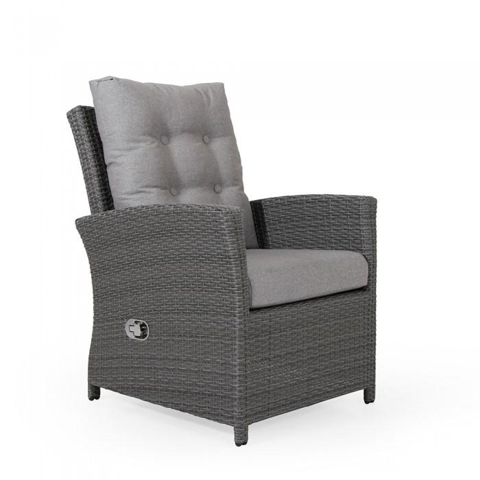 Кресло регулируемое серое Soho 2331-76-76