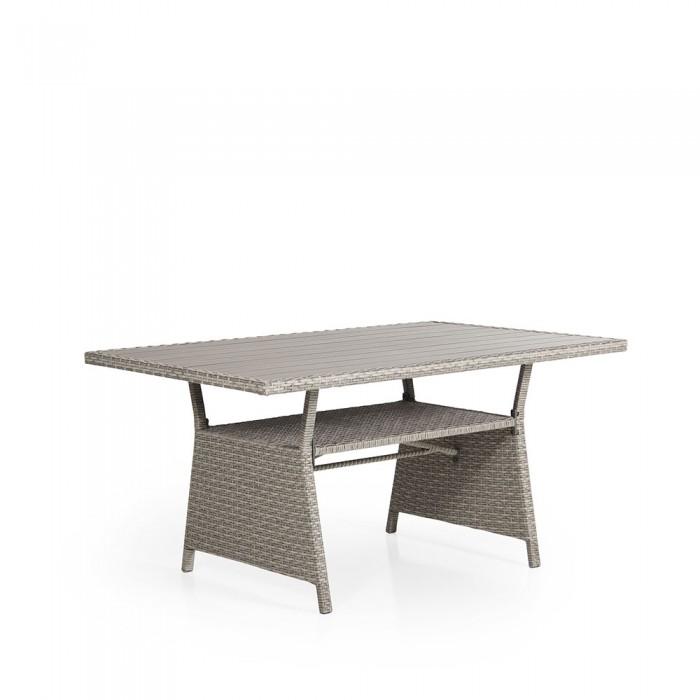 Стол обеденный бежевый 143 см Soho 2316S-23-6