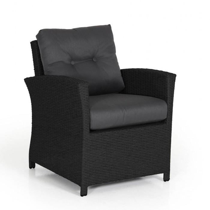 Кресло черное Soho 2311S-8-75
