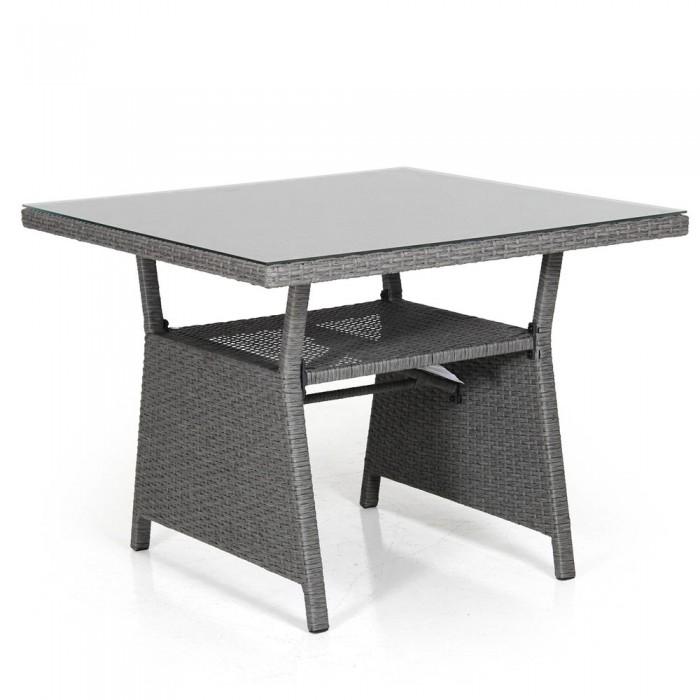 Стол обеденный серый 86 см Soho 2317S-76