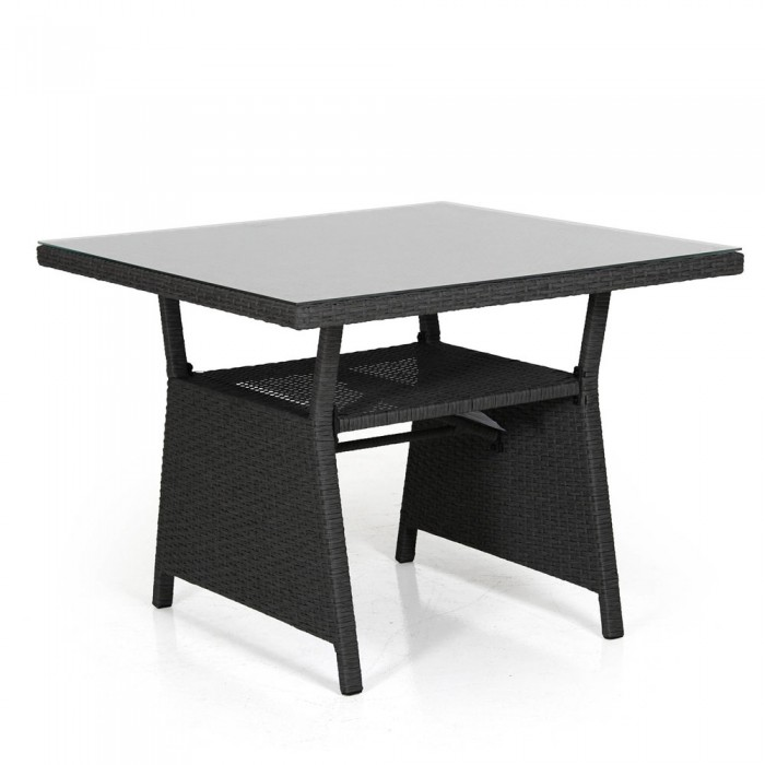 Стол обеденный черный 86 см Soho 2317S-8