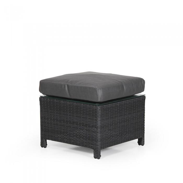 Столик-пуф черный Soho 2321S-8-75