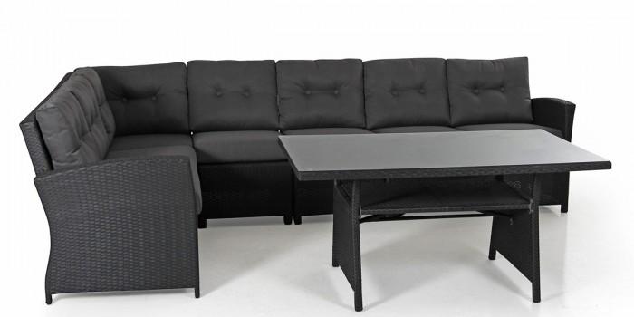 Комплект для отдыха черный Soho ko-soho-black