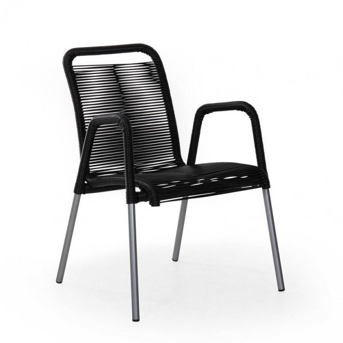Кресло черное Verona 10111-8