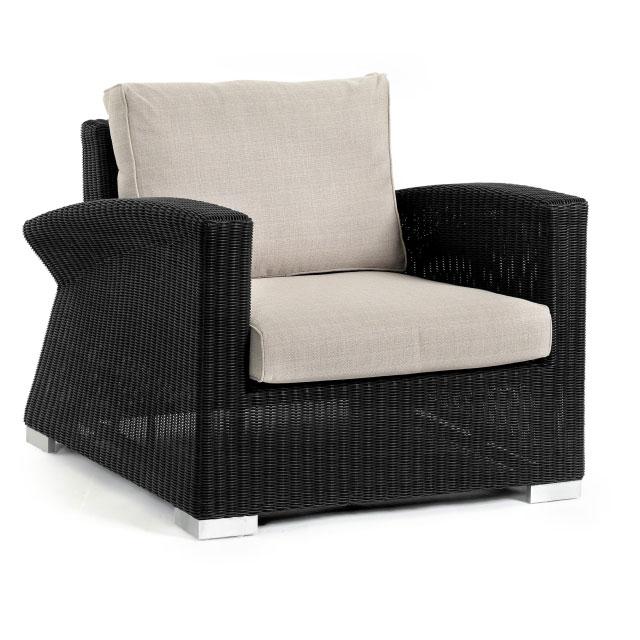 Кресло черное Wing  2111-8-24