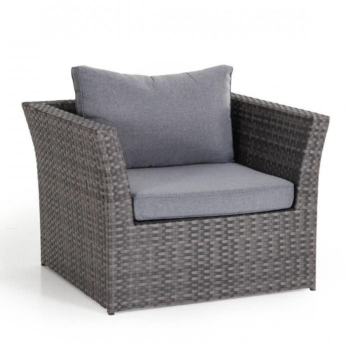 Кресло серое Wisconsin 11401-7-71