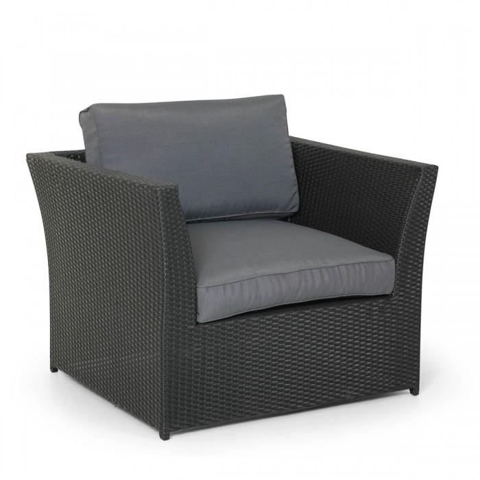 Кресло черное Wisconsin 11401-80-71
