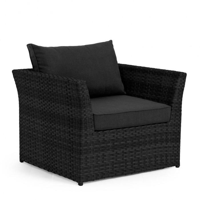 Кресло черное Wisconsin 11401-80-86