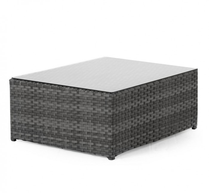 Столик-пуф серый Wisconsin 11407-7-8